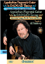 Appalachian Fingerstyle Guitar in DADGAD Tuning - Two DVD Set