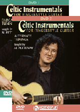 Celtic Instrumentals For Fingerstyle Guitar - Two-DVD Set