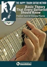 Basic Theory That Every Guitar Player Should Know - Book + CD