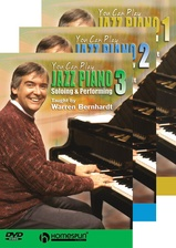 You Can Play Jazz Piano - Three-DVD Set
