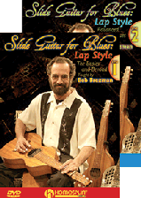 Slide Guitar for Blues - Lap Style - Two DVD Set