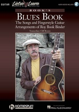 Roy Book Binder: Book's Blues Book - Book/Audio