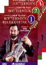 Learn To Play Bottleneck Blues Guitar-Three-DVD Set