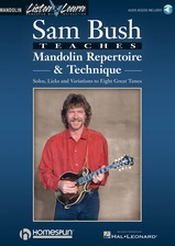 Sam Bush Teaches Mandolin: Book/Audio