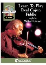 Learn to Play Real Cajun Fiddle 6-CD Set