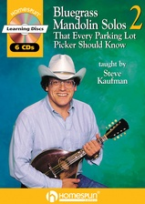 Bluegrass Mandolin Solos That Every Parking Lot Picker Should Know - Series Two
