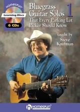 20 Bluegrass Guitar Solos That Every Parking Lot Picker Should Know! Series 1