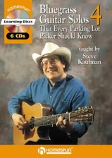 20 Bluegrass Guitar Solos That Every Parking Lot Picker Should Know! Series 4