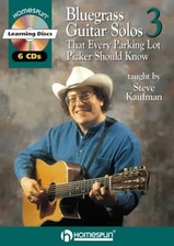 20 Bluegrass Guitar Solos That Every Parking Lot Picker Should Know! Series 3