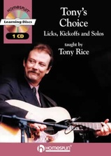 Tony's Choice CD and Book