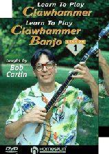 Learn To Play Clawhammer Banjo - Two-DVD set
