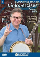 Bluegrass Banjo Licks-Ercises - DVD One