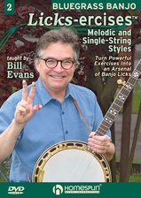 "Bluegrass Banjo ""Licks-Ercises:""  - DVD TWO"