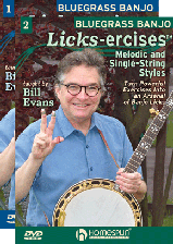 "Bluegrass Banjo ""Licks-Ercises"" - Two DVD Set"