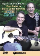 Easy Steps to Blues Guitar Jamming - DVD 1