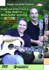 Easy Steps to Blues Guitar Jamming - Two-DVD Set