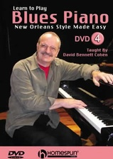 Learn to Play Blues Piano - DVD 4