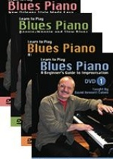 Learn to Play Blues Piano - Four-DVD Complete Set