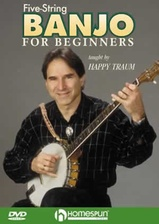 Five-String Banjo For Beginners DVD