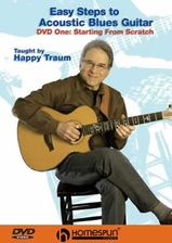 Easy Steps to Acoustic Blues Guitar - DVD 1