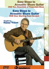 Easy Steps to Acoustic Blues Guitar - Two-DVD Set