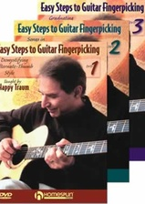 Easy Steps to Guitar Fingerpicking - Three-DVD Set