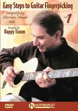 Easy Steps to Guitar Fingerpicking - DVD 1