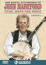 The Banjo According To John Hartford - DVD 1