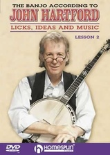 The Banjo According To John Hartford - DVD 2