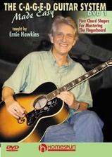 The C-A-G-E-D Guitar System Made Easy - DVD 1