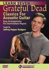 Learn Seven Grateful Dead Classics for Acoustic Guitar - DVD 1