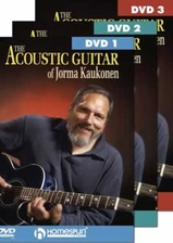 The Acoustic Guitar of Jorma Kaukonen - Three-DVD Set