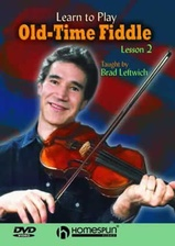 Learn To Play Old-Time Fiddle- DVD 2