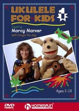 Ukulele for Kids - DVD One - Play in Ten Easy Lessons