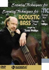 Essential Techniques for Acoustic Bass-Two-DVD Set