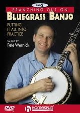 Branching Out On Bluegrass Banjo - DVD Two