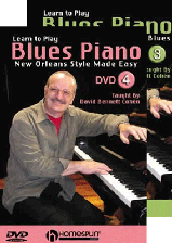 Learn to Play Blues Piano Set - DVD 3 and 4