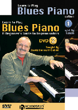 Learn to Play Blues Piano Set - DVD 1 and 2