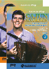 Learn To Play Cajun Accordion-Two-DVD Set
