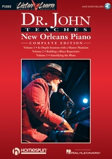 Dr. John Teaches New Orleans Piano - The Complete Edition - Book/Audio