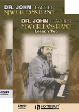 Dr John Teaches New Orleans Piano - Two-DVD Set