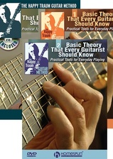 Happy Traum's Guitar Theory Package