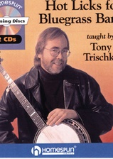 Hot Licks for Bluegrass Banjo - CDs only
