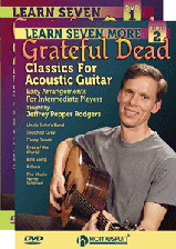 Learn Grateful Dead Classics for Acoustic Guitar - Two DVD Set