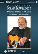 The Guitar of Jorma Kaukonen - Book/Audio