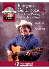 20 Bluegrass Guitar Solos That Every Parking Lot Picker Should Know! Series 2