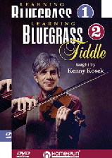 Learning Bluegrass Fiddle - Two-DVD Set
