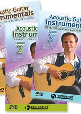 Acoustic Guitar Instrumentals - Three-DVD Set