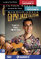 Learn To Play Django Style Gypsy Jazz Guitar-Two-DVD Set