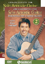 Arrangements for Solo Acoustic Guitar - Two-DVD Set